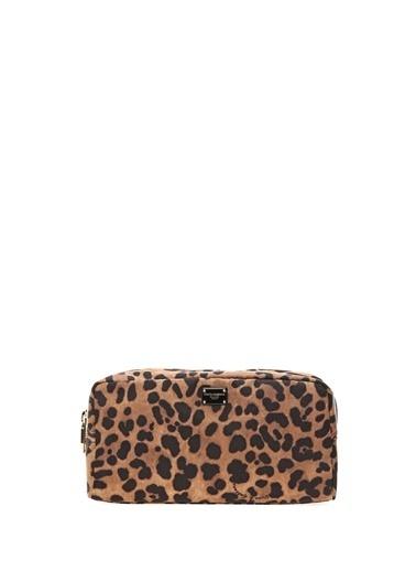 Dolce&Gabbana Makyaj Çantası Leopar